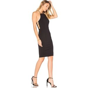 Finders Keepers Kendrick Little Black Dress Small